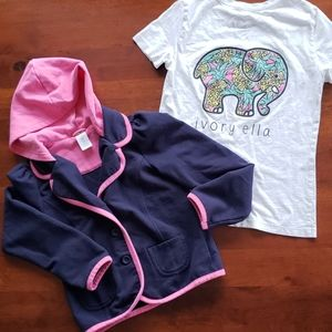 Gymboree spring jacket + FREE Ivory Ella t-shirt